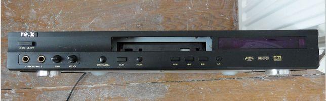 Проигрыватель ,, re.x,, DVD, CD,MP3