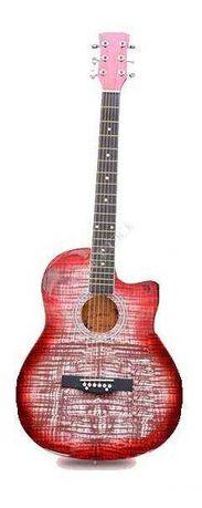 """Gitara Akustyczna 38"""" KG CX S017C małe pudło"""