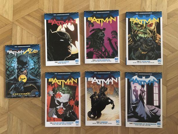 Batman DC Odrodzenie 6sz i Batman i Flash przypinka