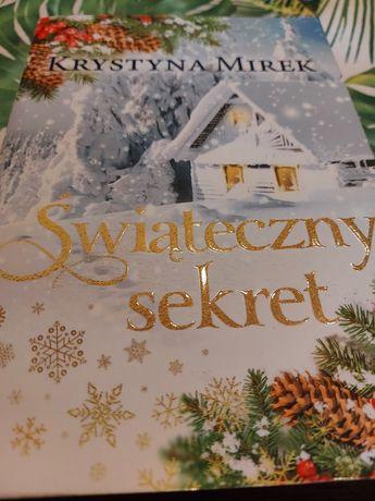 """Krystyna Mirek """" Świąteczny sekret """""""