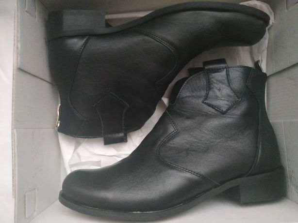 Buty skórzane w całości, Caroline roz. 37