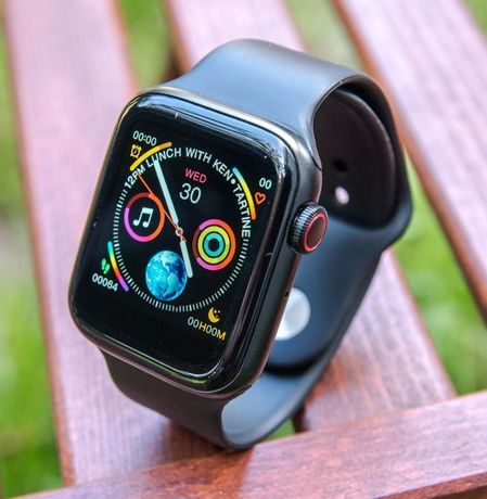 Аналог Apple Watch 4-5 серии смарт часы( IWO 10 LITE ) с ЭКГ