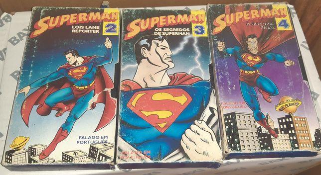 Cassetes VHS infantis, vários preços