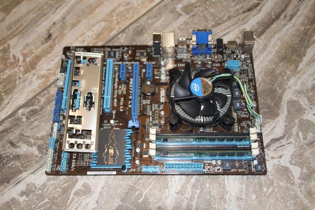 Core i5-2320 3.0GHz + Asus P8Z77-V LX Intel Z77 + 8Gb DDR3 Kingston KV