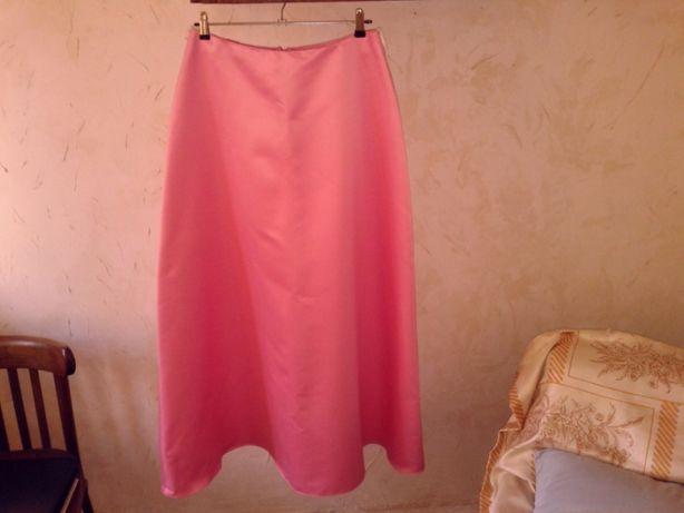Элегантная стильная нежная розовая юбка производства США