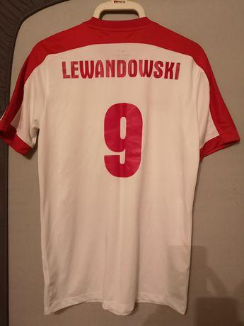 Oryginalna koszulka NIKE Reprezentacji Polski Robert Lewandowski nr 9