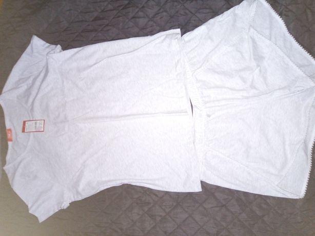 Szara piżama, rozmiar XXL Nowa