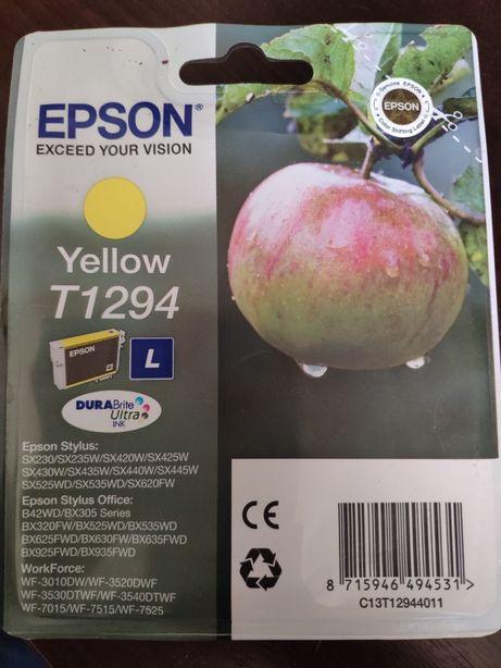 Оригинальный Картридж EPSON T1294 Yellow