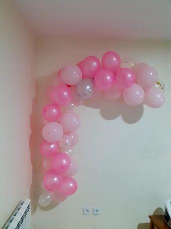 Arco de balões pra festa