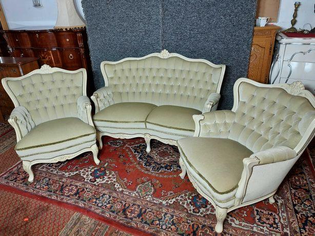 Wypoczynek Sofa 2 Fotele Ludwik z Niemiec