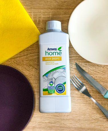 Средство для мытья посуды Dish Drops Диш Дропс Amway Амвей 1 кг