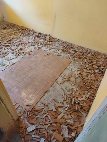 Oddam za darmo Drewno z parkietu