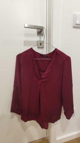 Camisola vermelha manga comprida meia estação