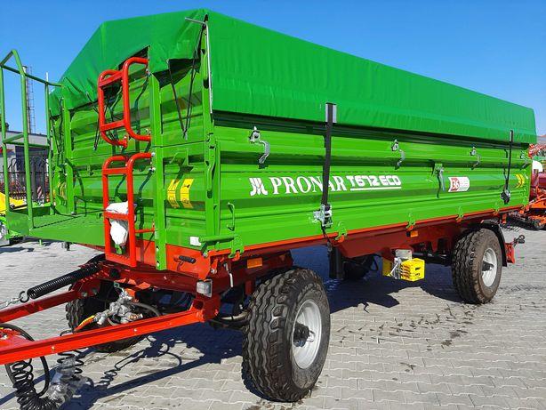 Przyczepa Pronar T 672 ECO ład 5700 kg, dostępna od ręki !