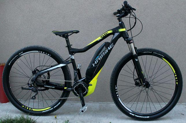 электро велосипед haibike 29 колеса yamaha 400W вилка воздух