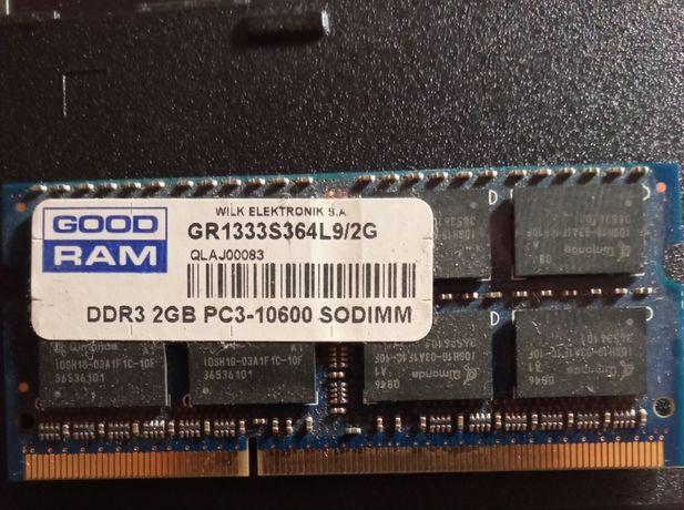 Продам оперативную память для ноутбука 2 Гб DDR3 PC3-10600 SODIMM