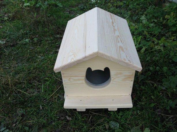 Утеплена будка для кота