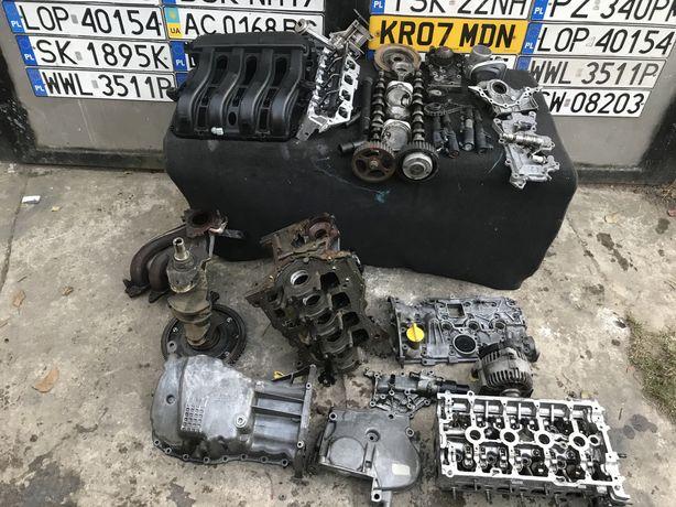 Двигатель K4M 1.6 бензин, Renault Megan 3 megan 2 Scenic Головка Блок
