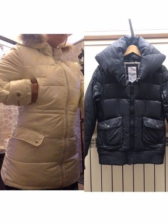 Куртка Парка Пуховик осенняя зимняя демисезонная как Zara