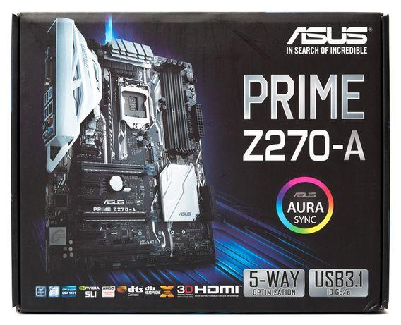 Комплект ASUS Prime Z270-A + Процессор Intel Core™ i5-7600K Kaby Lake