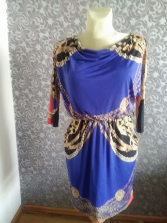 Sukienka V2000 wzór Hermes