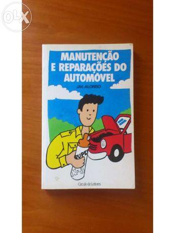 livro - manutenção e reparações do seu automóvel - jm alonso