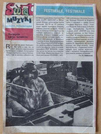 Czesław Niemen 1980 że Świata Młodych