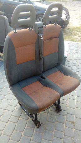 Fotele pasazera podwojne Fiat ducato 3.0