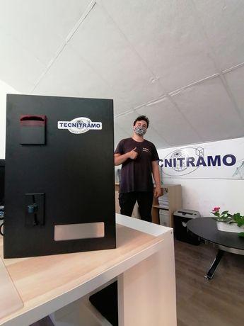 Câmbio / máquina de trocos lavandaria self service