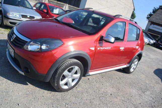 Dacia Sandero Stepway 1.6b 2012r, 95 tys km przebiegu!! Sprowadzona