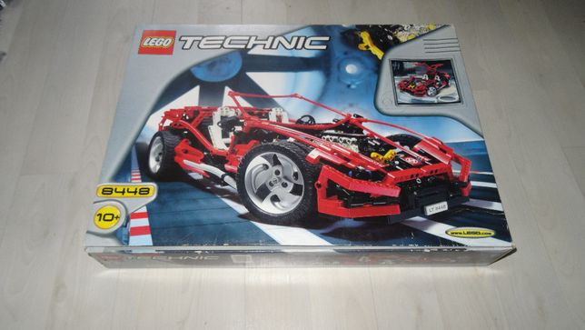 Super Street Sensation - Super Car Mk II - 8448 LEGO Technic 1999rok