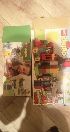 Lego duplo pociąg i zwierzęta