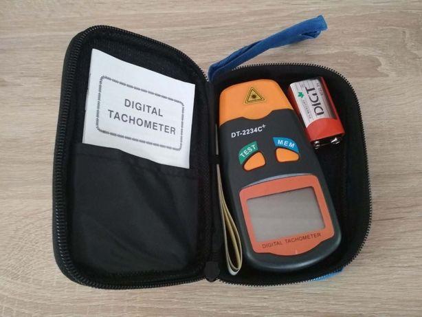 Тахометр лазерный бесконтактный цифровой DT-2234C с батареей