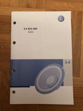 Instrukcja radio VW Passat RCD 300