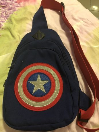 Plecak saszetka kapitan Ameryka marvel
