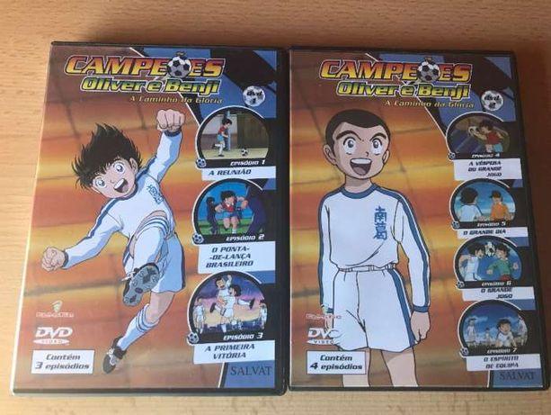 DVD Oliver e Benji
