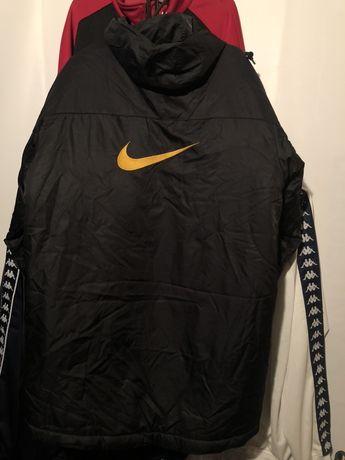 Nike пуховики куртки парки худи оригинал биг лого винтаж анорак