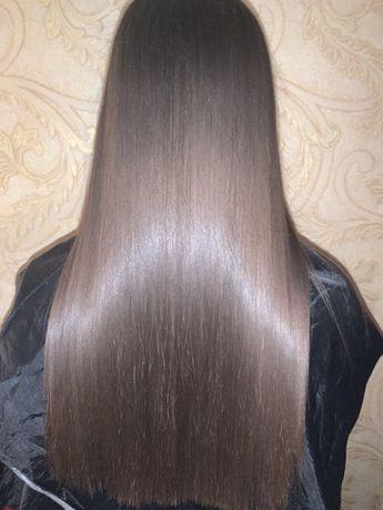 АКЦИЯ Кератиновое выпрямление волос