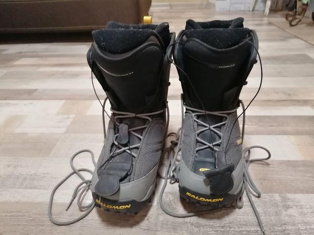Горнолыжные ботинки,  Salomon,Размер 43.5