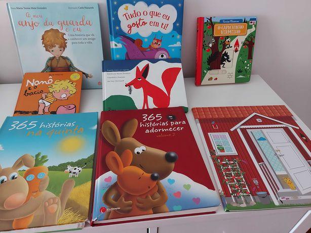 Livros infantis vários