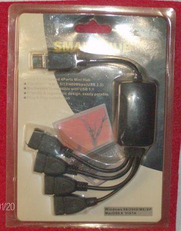 Smart HUB 4 Portas USB