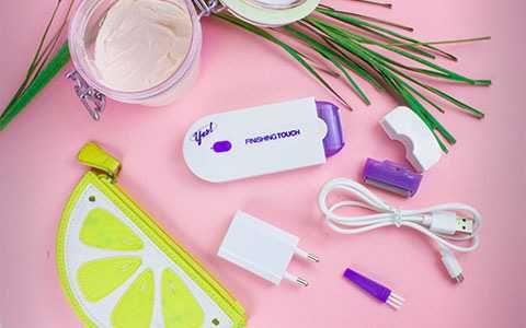 Женская электробритва, триммер,эпилятор Yes Finishing Touch с датчиком