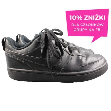 ORYGINALNE NIKE COURT BOROUGH LOW 2 r. 39 25 cm buty sportowe czarne