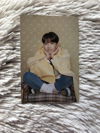 bts persona pocztówka hoseok hobi jhope kpop oficjalne