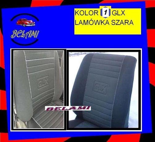 VW POLO III, IV- KOMPLET TYPU GLX -Trwałe Pokrowce Samochodowe