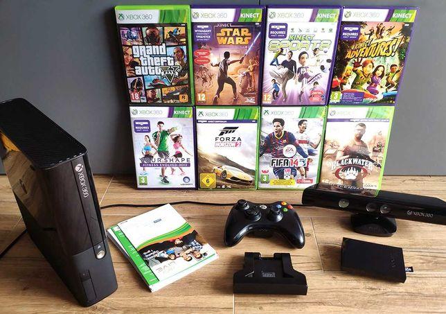 Xbox 360E Kinect Pad, dużo gier, Super stan [wysyłka 5 zł]