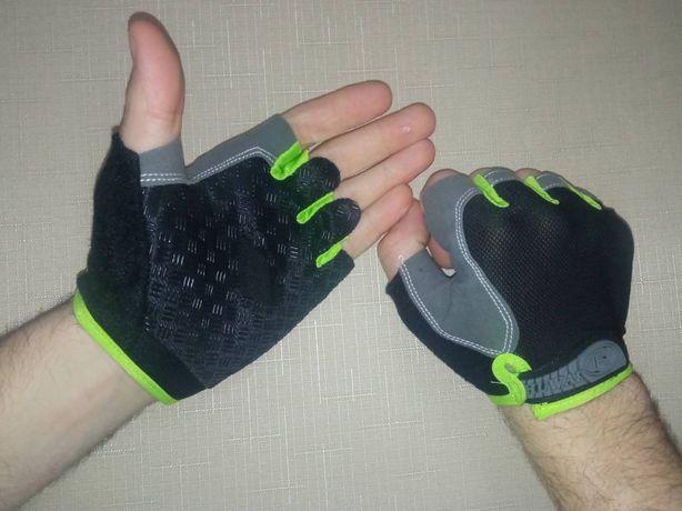 Защитные перчатки для спорта велосипед турник фитнес