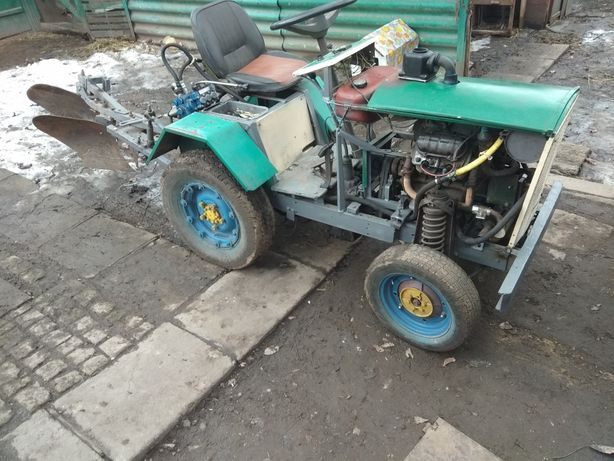 Трактор самодеьный