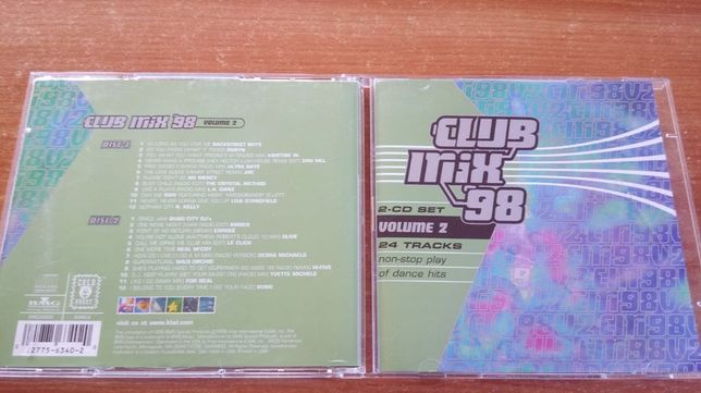 Club Mix '98 Volume 2 , 2CD USA , super stan