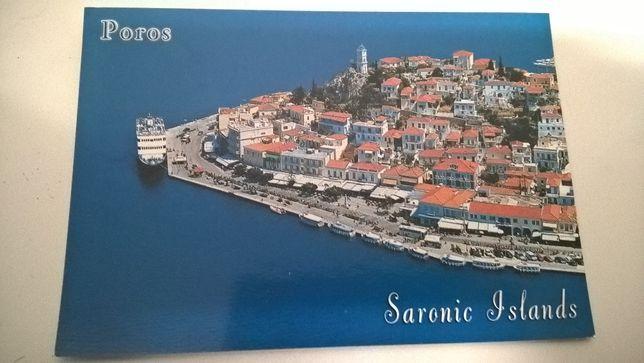 Postal Grécia - Ilhas Sarónicas - Poros (portes incluídos)
